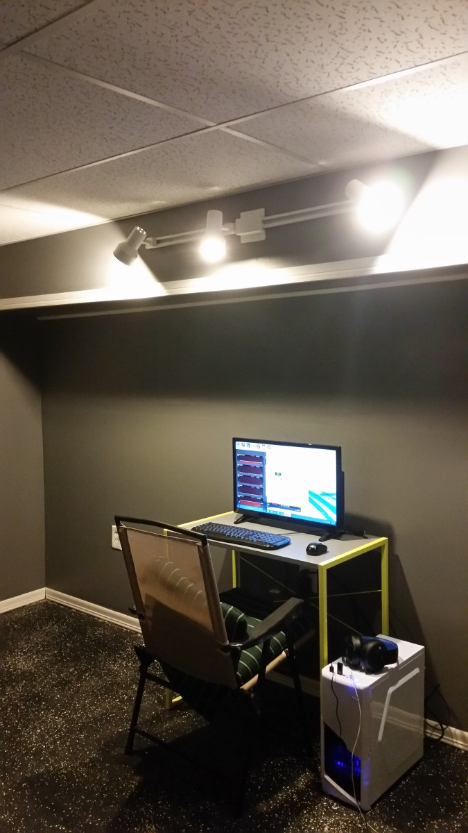 basement bedroom project aka the dungeon everything